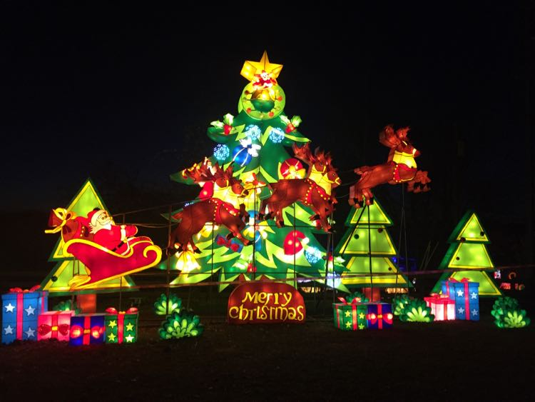 Chinese Lantern Festival Christmas tree