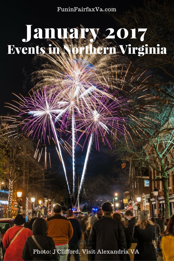 January 2017 Events in the Northern Virginia Area