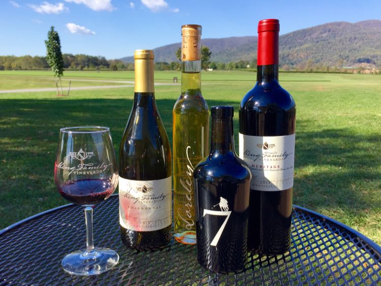King Family Vineyards Crozet VA