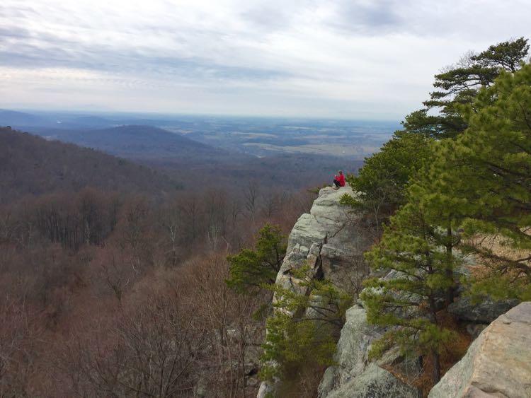 Raven Rocks hike Appalachian Trail Virginia