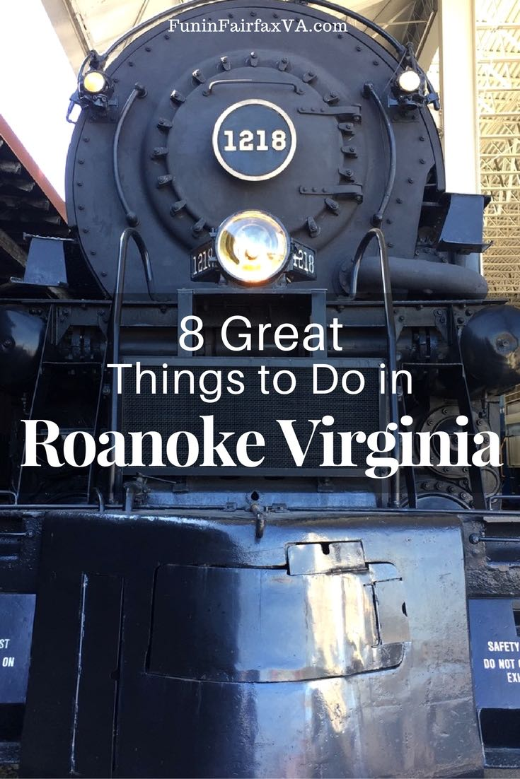 Things to do in Roanoke VA include museums, delicious local food and drink, and outdoor fun in Virginia's Blue Ridge.