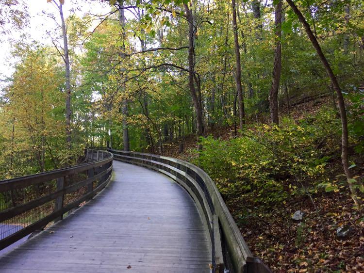 Trail to Monticello Charlottesville Virginia