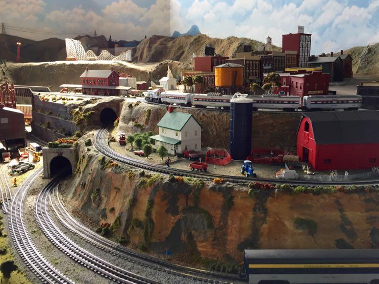 model trains Virginia Museum of Transportation Roanoke