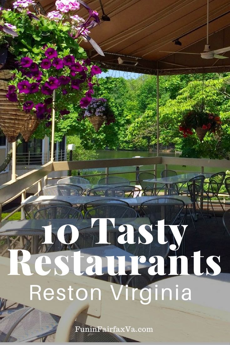 These 10 tasty Reston restaurants feature non-chain spots where you can eat and drink while supporting local Virginia businesses and families.