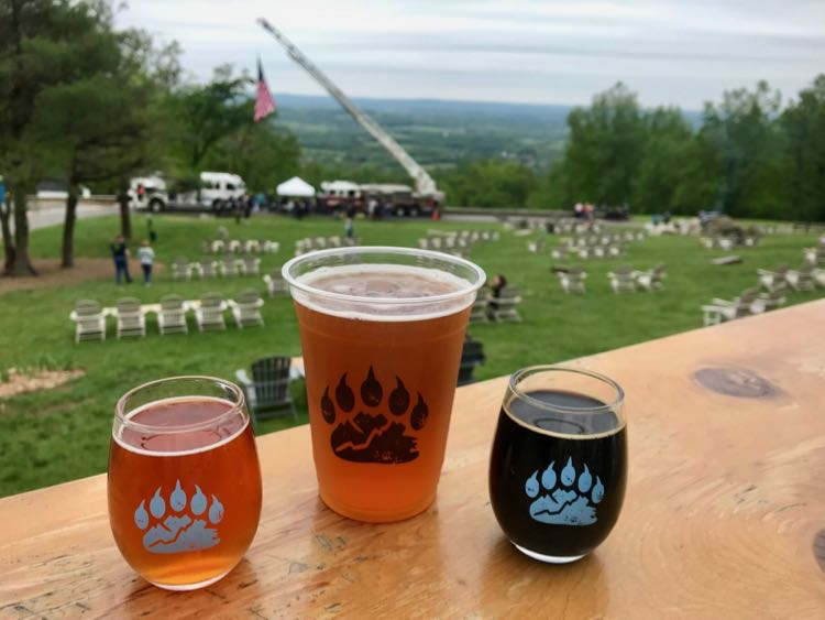 Bear Chase Brewing craft brewery in Bluemont Virginia