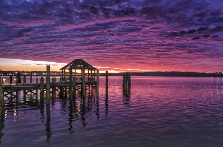 Potomac Sunrise photo by Chris Militzer