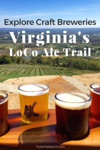 Northern Virginia's LoCo Ale Trail offers a range of fun spaces to drink tasty, local craft brews while you explore small towns and country roads near Washington DC.