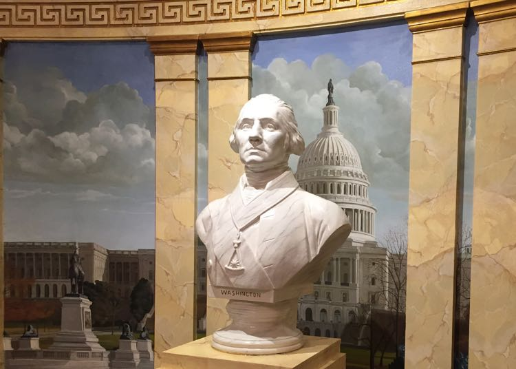 Geroge Washington bust, Masonic Memorial