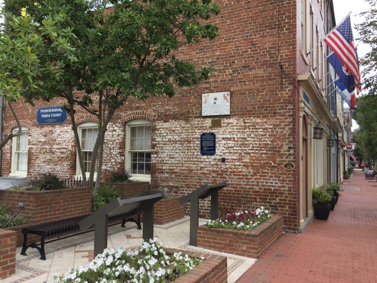 Visitor Center Fredericksburg Virginia