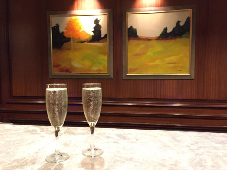 Champagne reception Ritz-Carlton Tysons VA