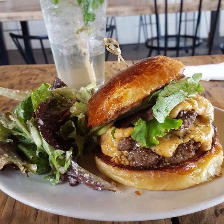 Commune burger, photo credit: Brianna Simmons, Casual Travelist