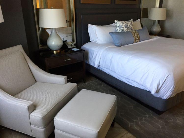 Executive Suite bedroom Ritz-Carlton Tysons VA
