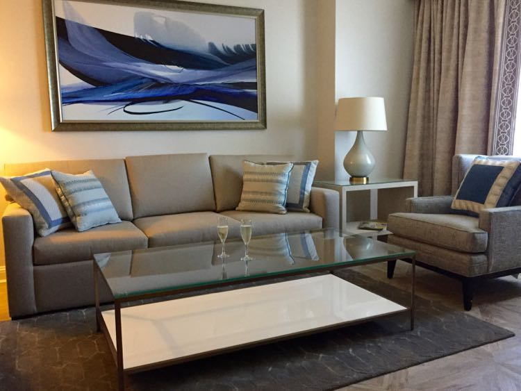 Redefined Ritz-Carlton suite Tyson VA