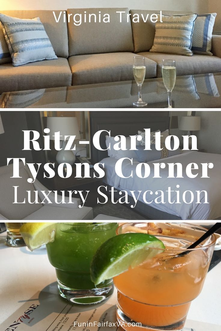 Snuggle in to the redefined Ritz-Carlton in Tysons Corner for a Northern Virginia staycation surrounded by comfortable luxury.