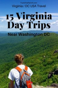 15 fantastic Virginia day trips near Washington DC offer fun and interesting places to visit, whether you've got a few hours or a full day to explore.