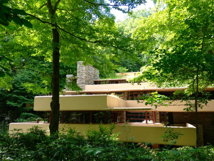 Fallingwater terraces Laurel Highlands PA