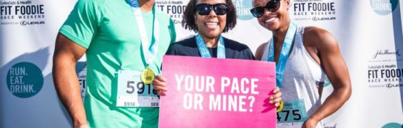 Fit Foodie Festival and 5K fun; photo: Fast Forward