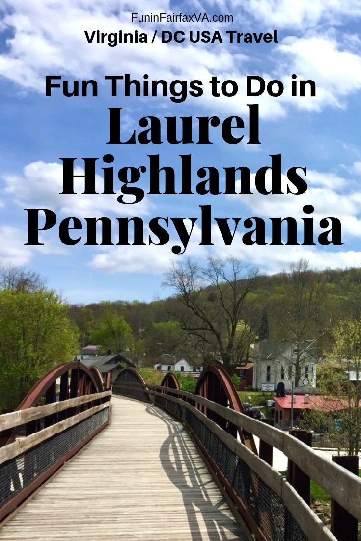PA USA Travel: Fun things to do in Laurel Highlands Pennsylvania plus where to stay, eat, and drink on a getaway to Western PA.