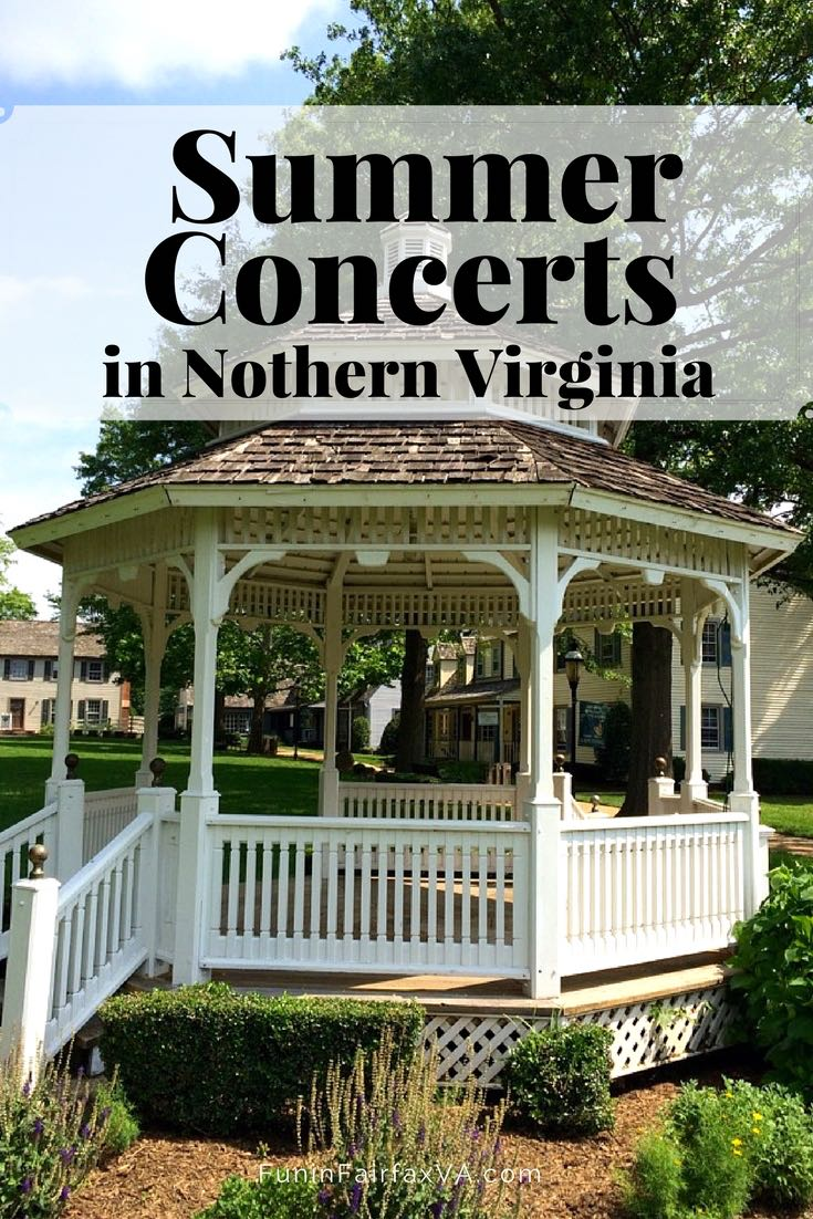 Bookmark this round-up of 2017 Northern Virginia summer concerts for family-friendly entertainment all season long at over 25 outdoor concert series.