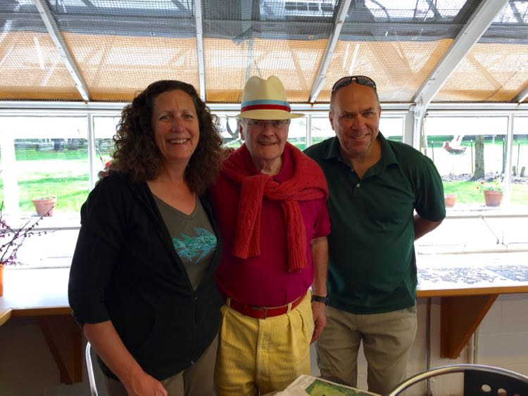 meeting Lord Palumbo owner of Kentuck Knob