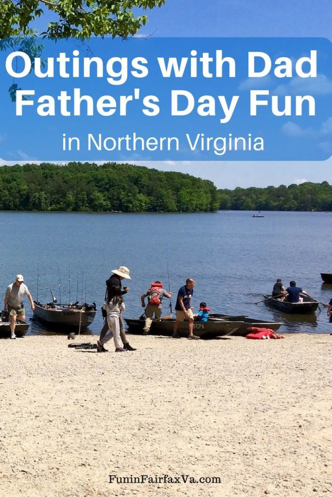 Father's Day events and fun outings with Dad in Northern Virginia and the Washington DC region.