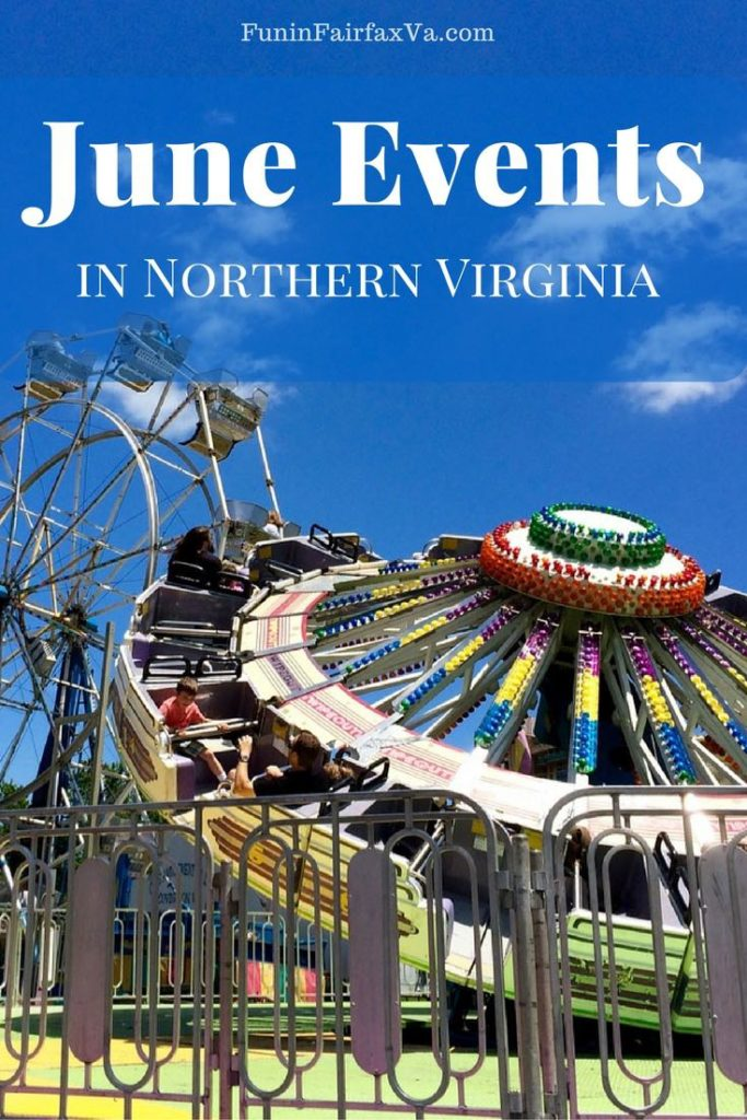 Things to Do | Northern Virginia Events| June 2017 events include multi-day carnivals and festivals along with opportunities to volunteer, compete, learn, and play throughout Northern Virginia.