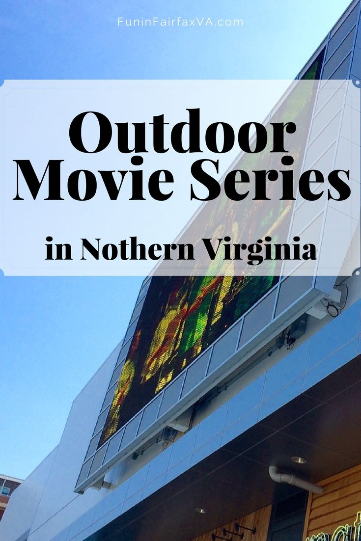 Virginia Events | Summer Events | 2017 outdoor movies in Northern Virginia offer the chance to enjoy a flick under the stars, for mostly free, family-friendly, fun all summer long.