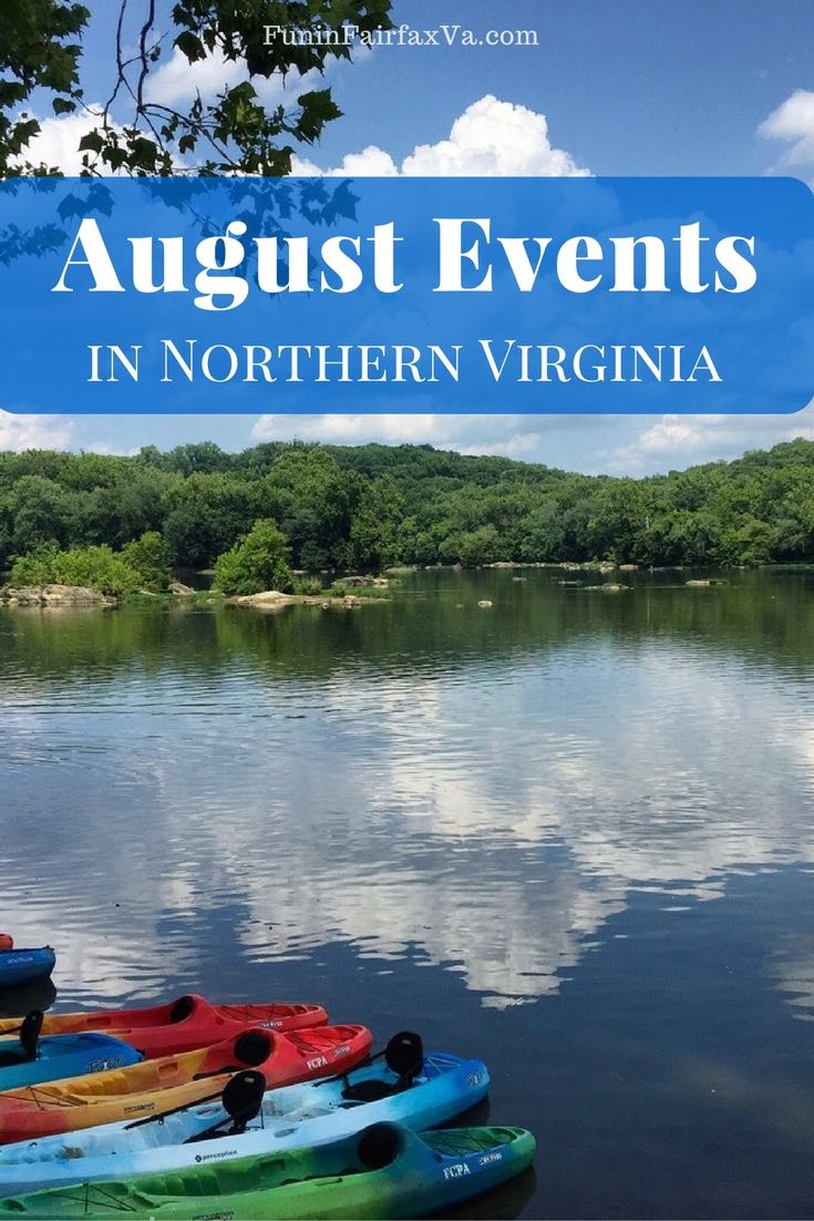 Virginia Events | August 2018 events in Northern Virginia include County Fairs, beer fests,a nostalgic drive-in, shopping and dining deals, and more summer fun.