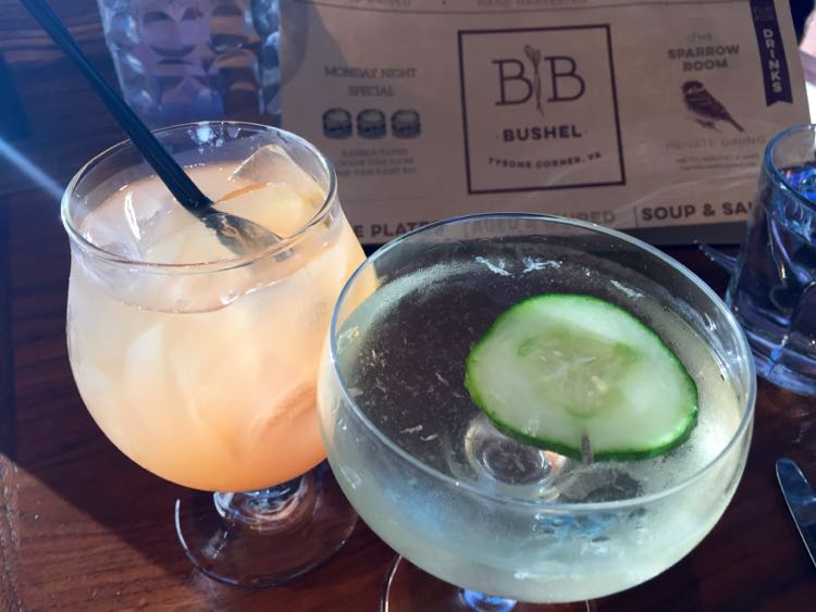 Barrel and Bushel cocktails Tysons