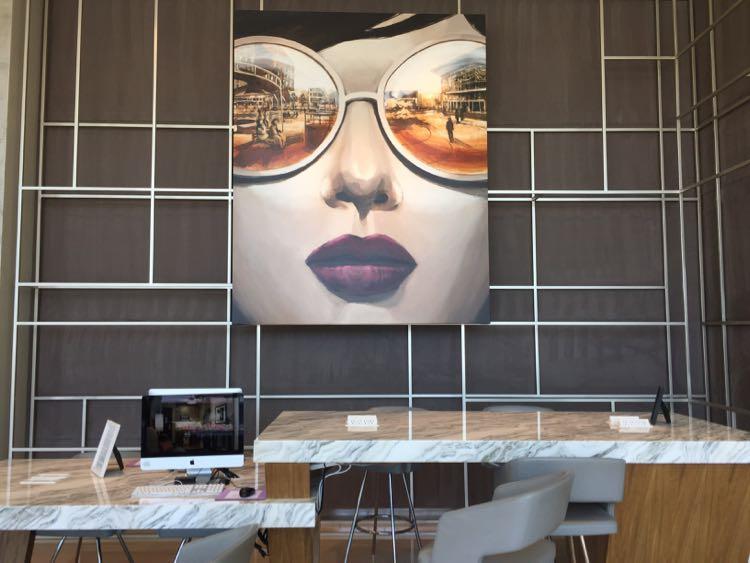 Hyatt Tysons Corner reception art