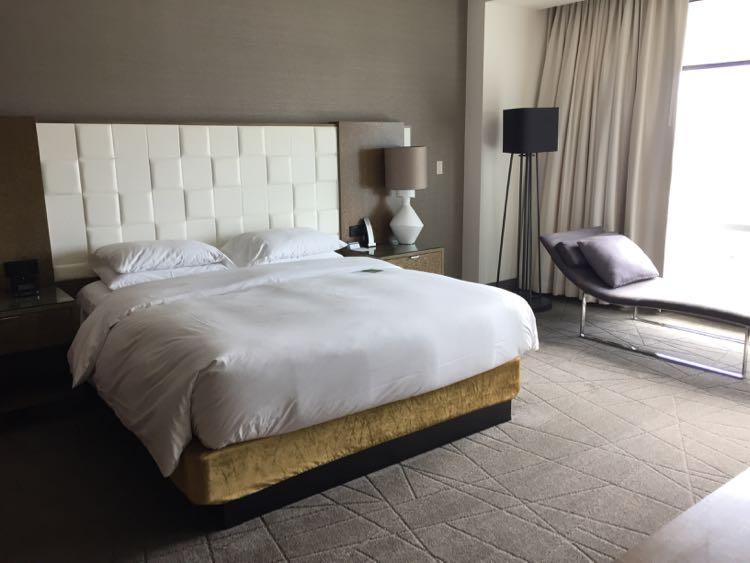 Hyatt Tysons Corner suite bedroom