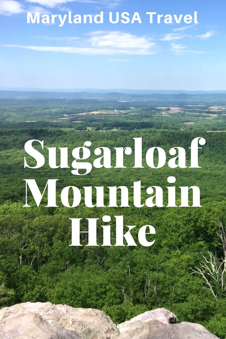 Maryland USA Travel | Hiking | A Sugarloaf Mountain hike delivers great views of the Maryland countryside, picnicking, and a convenient network of trails that allow short or longer hikes.