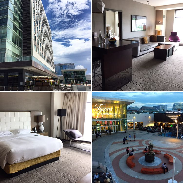 Hyatt Tysons Corner Center Plaza collage