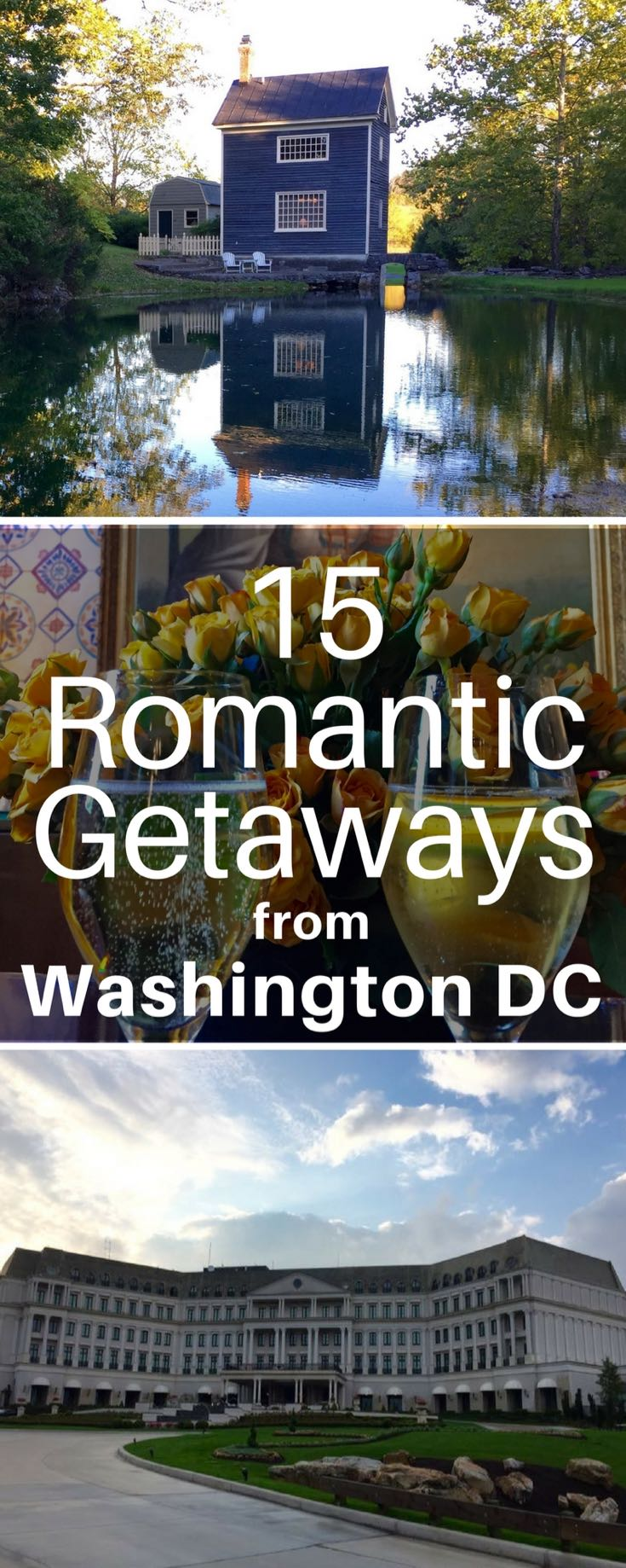 15 fabulous romantic getaways from washington dc fun in for Romantic weekend getaways dc