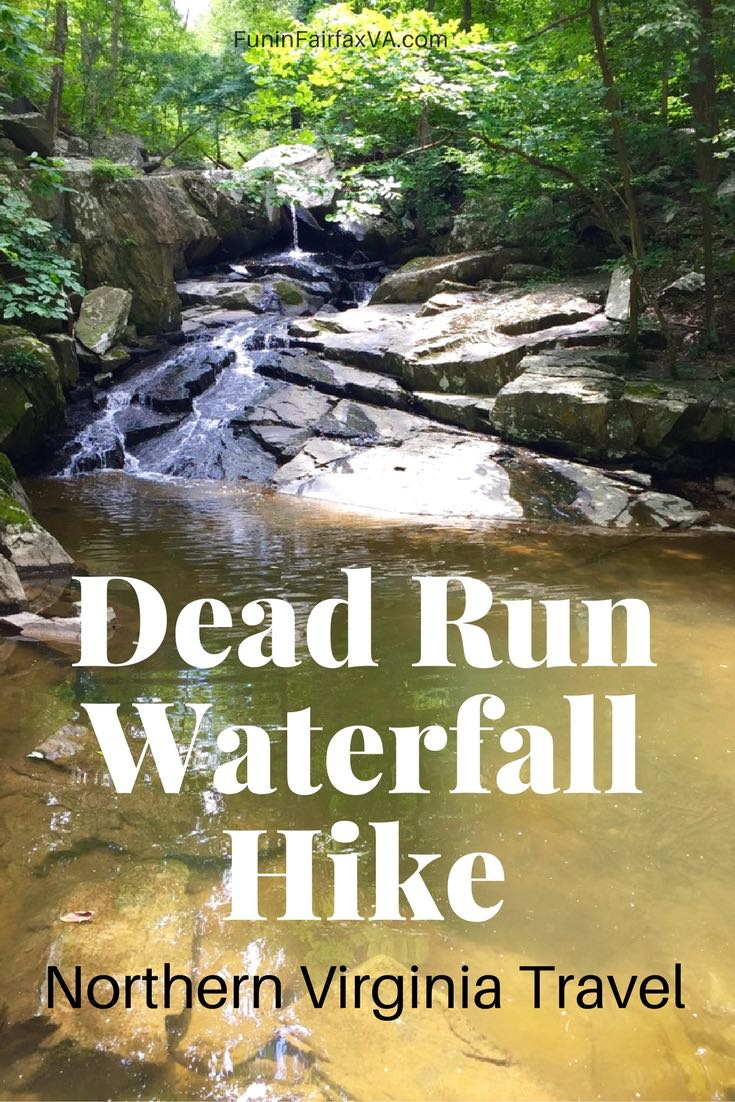 Virginia USA Travel The Dead Run waterfall hike is a shady, 4 mile, out-and-back on a wooded segment of the Potomac Heritage Trail close to Washington DC.