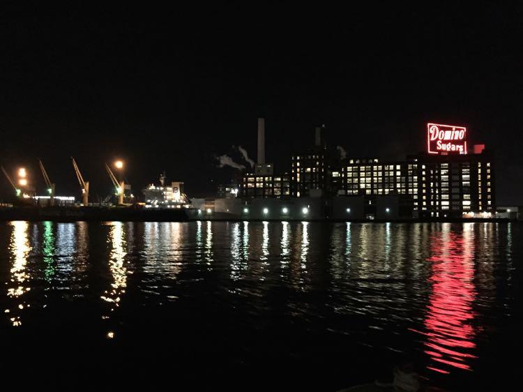 Domino Sugar plant Inner Harbor Baltimore MD