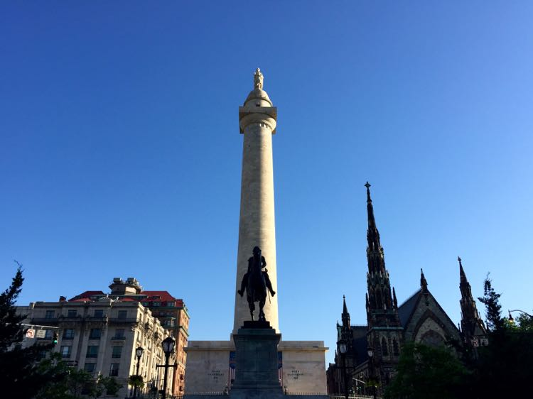 Washington Monument Baltimore MD