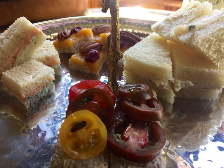 afternoon tea treats Ivy Hotel Baltimore Maryland