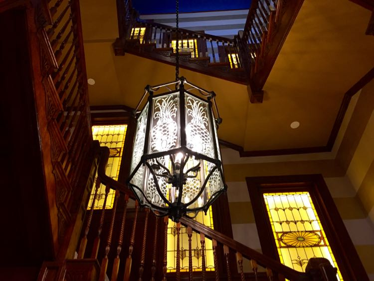 grand staircase Ivy Hotel Baltimore MD