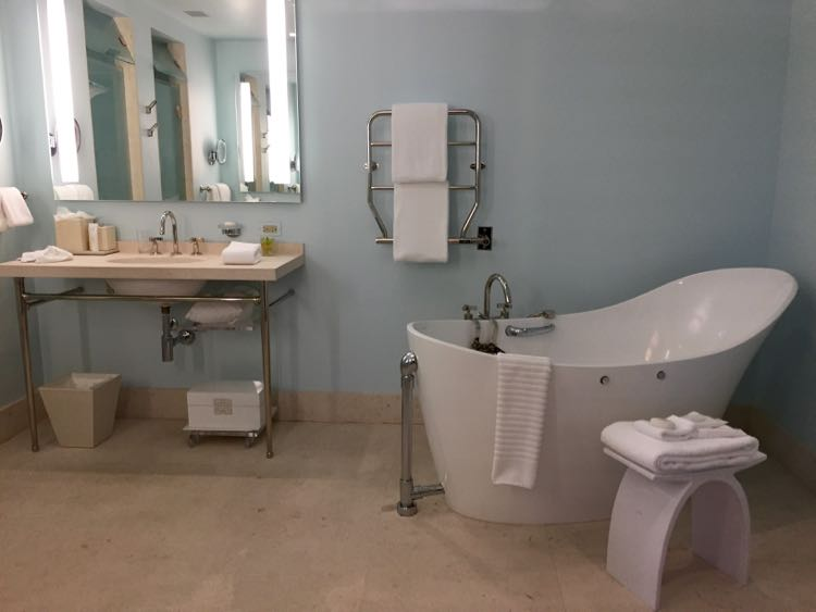 Luxurious bathroom Ivy Hotel Baltimore MD