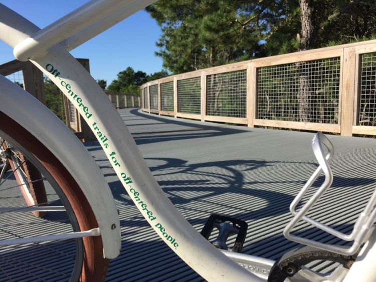 Dogfish Inn bike at Cape Henlopen