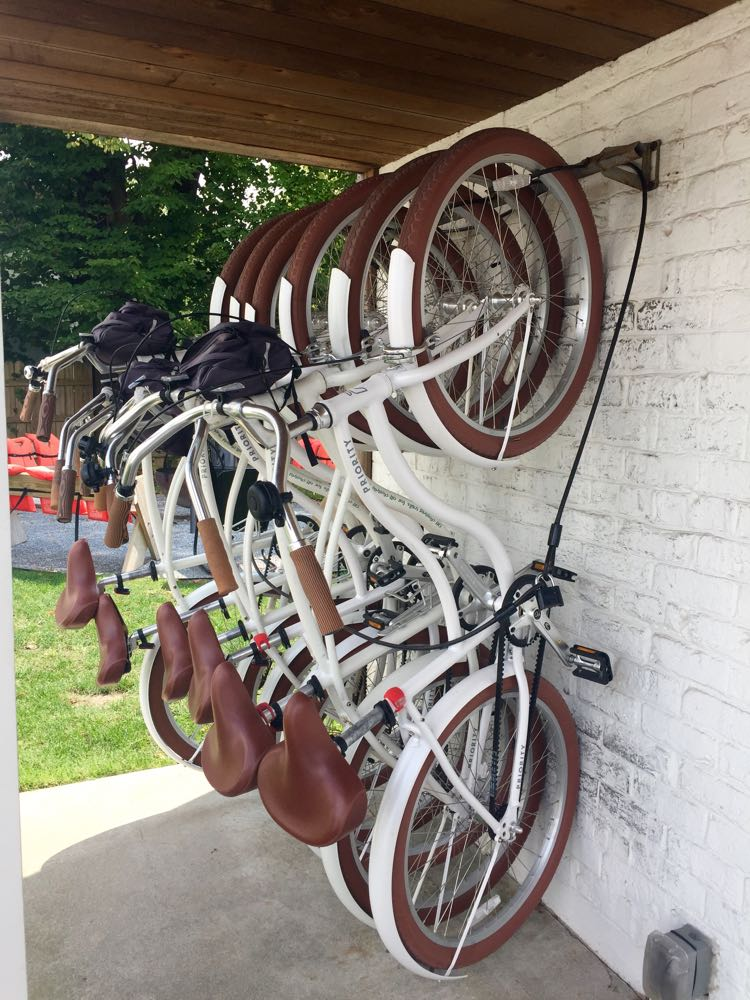 Dogfish Inn bikes