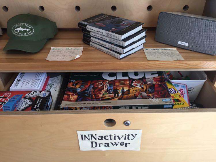 Dogfish Innactivity drawer