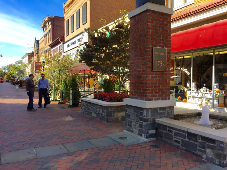 Downtown Pedestrian Mall Winchester VA