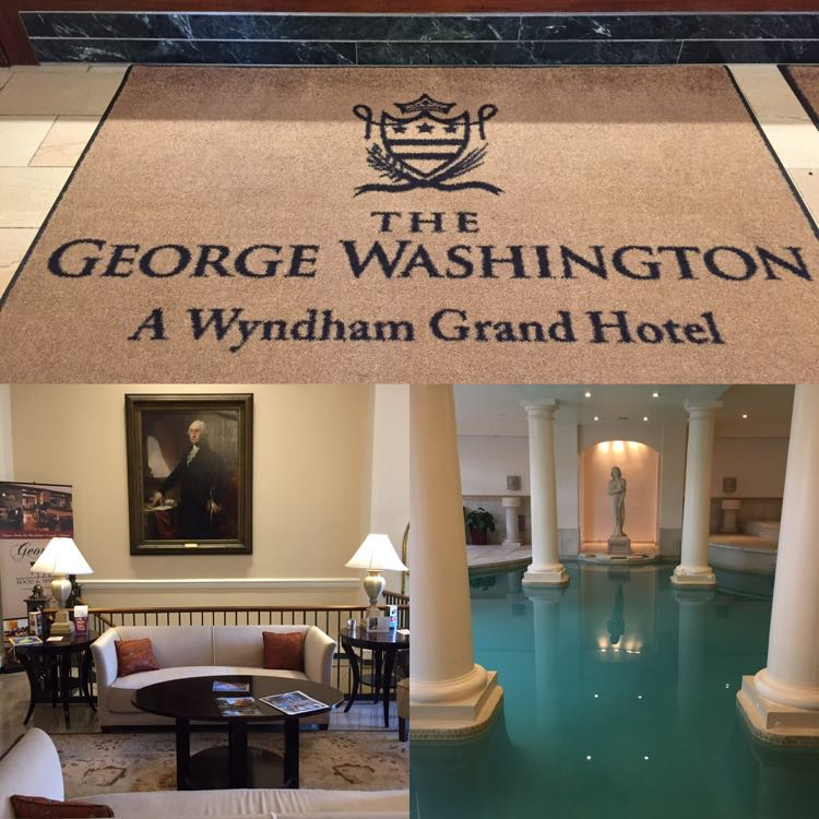 Stay at the George Washington Hotel on an overnight getaway to Winchester Virginia