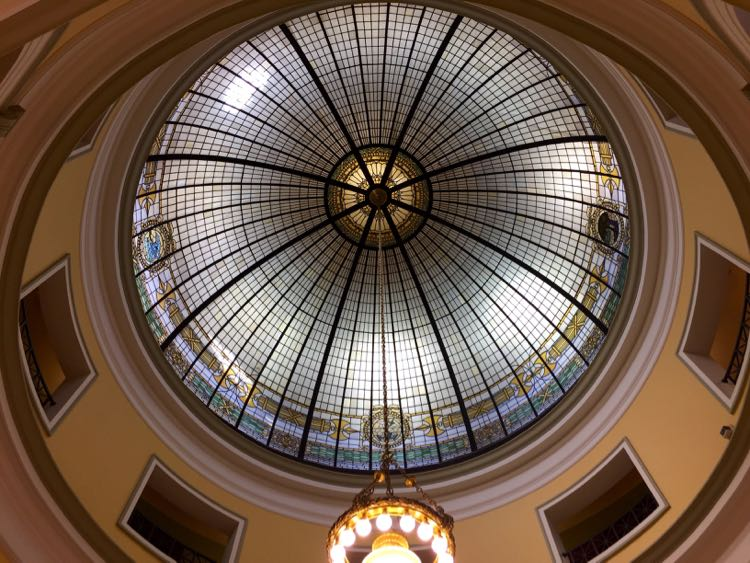 Handley Library dome Winchester VA