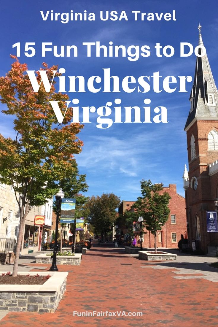 Virginia USA Travel | A Winchester Virginia getaway or day trip offers tasty dining and craft beer, beautiful scenery, interesting history, and unique fun for every age group.