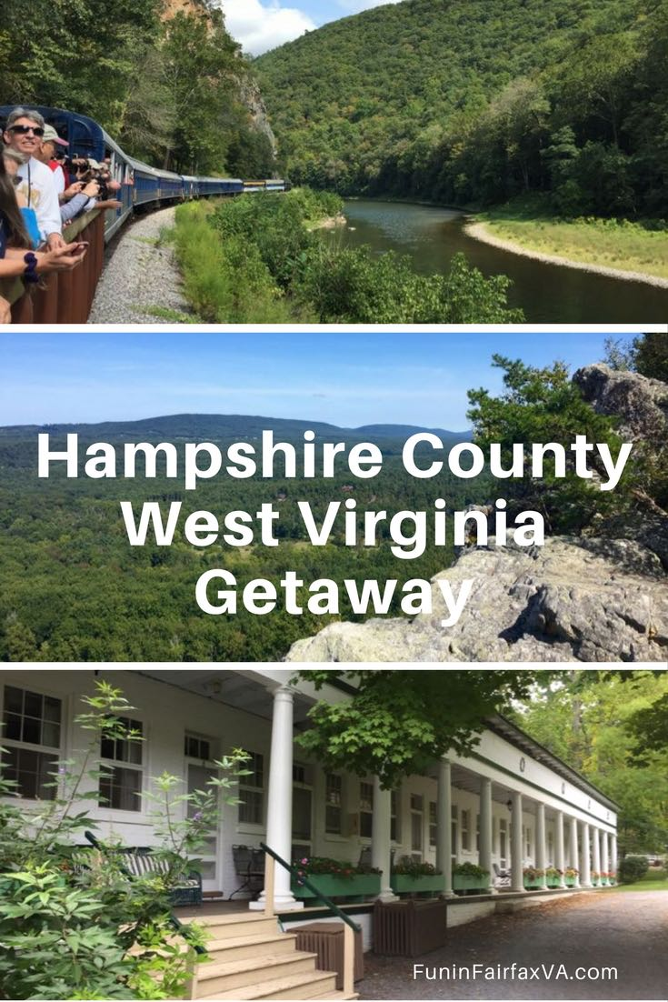 West Virginia USA travel. A Hampshire County getaway offers unique outings, beautiful nature, and time to relax as you explore West Virginia's Potomac Highlands region.