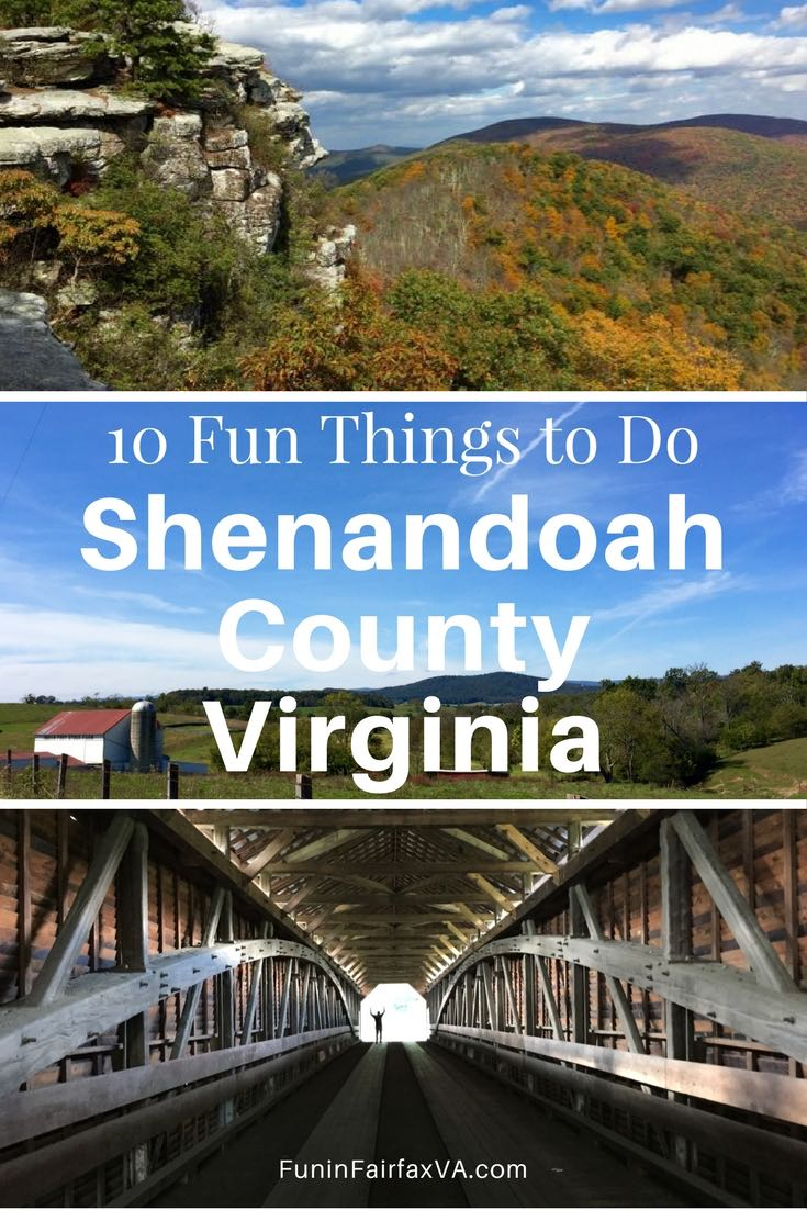 Virginia USA travel. 10 fun things to do in Shenandoah County Virginia.
