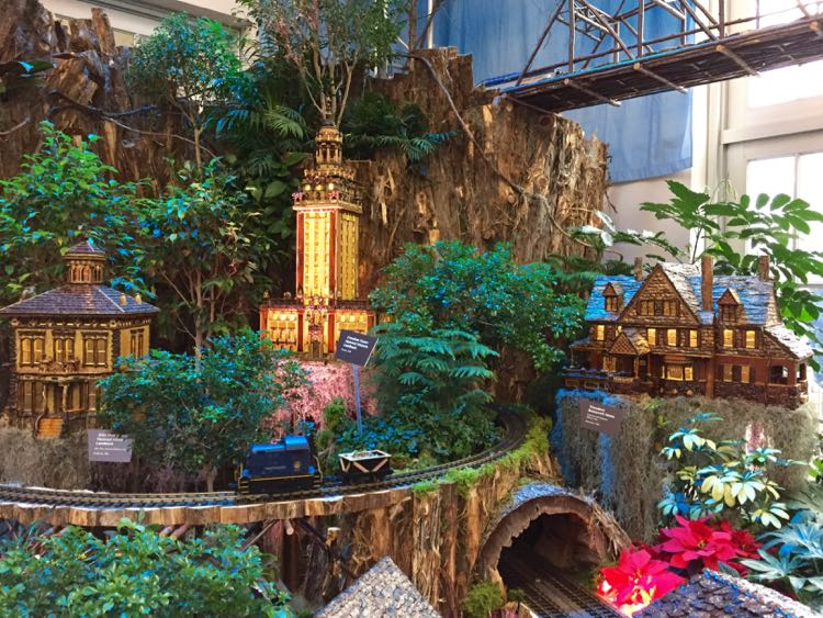 Smithsonian Botanical Gardens Train Exhibit Garden Ftempo